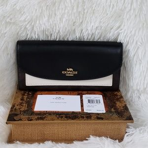 Brand New w/ Tag Coach Wallet Black